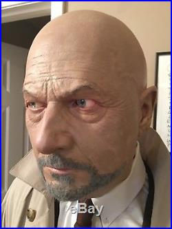 Dr. Loomis Mask with glass eyes and accurate clothing Halloween Michael Myers