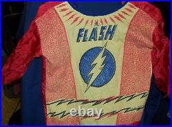 FLASH Halloween Costume & MASK RARE 1960's Ben Cooper
