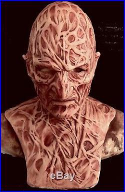 Freddy Inferno Part 4v2 Silicone Mask by WFX, Michael Myers, Krueger, Jason