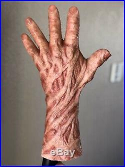 Freddy Krueger Silicone Glove / hand not SPFX CFX Darkride