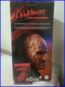 Freddy silicone mask krueger