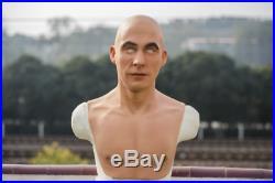 GMP silicone mask, realistic skin texture