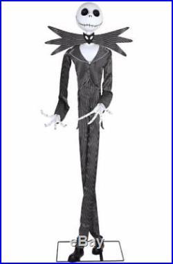 Gemmy 6 Ft Jack Skellington Animatronics Decorations Nightmare Before Christmas