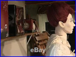 Gemmy Animated Rare Spirit Halloween 2009 Midnight Countess