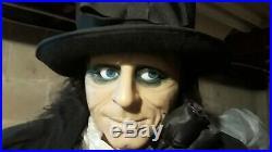 Gemmy Life Size Edwardian Butler Halloween Prop Animated Animatronic 6 Ft