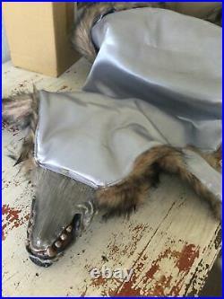 Grandin Road New In Box Halloween Werewolf Shawl Costume