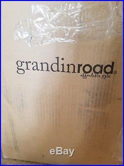 Grandin road 15 foot inflatable grim Reaper with pumpkin carriage
