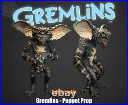 Gremlins Evil Gremlin Puppet Prop Trick or Treat Studios Green Halloween NEW