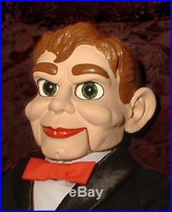 HAUNTED Ventriloquist doll EYES FOLLOW YOU Creepy Slappy dummy puppet oddity