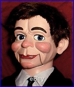 HAUNTED Ventriloquist doll EYES FOLLOW YOU dummy puppet magic Fats oddity OOAK