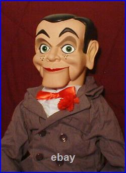 HAUNTED Ventriloquist doll EYES FOLLOW YOU puppet creepy dummy Slappy OOAK