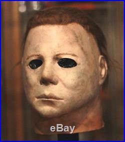 HalloweeN II MICHAEL MYERS Mask WMP NAG 75K Old Mold DICK WARLOCK jason freddy