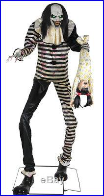 Halloween Animated TOWERING SWEET DREAMS CLOWN Prop Haunted House Pre-Order NEW