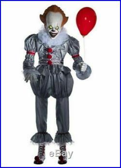 Halloween Animatronic 6 Feet IT PENNYWISE CLOWN Morbid Enterprises Prop IN STOCK