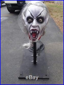 Halloween Animatronic Grave Jumper Prop