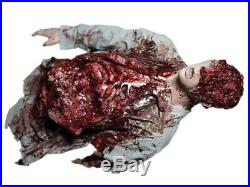 Halloween Body Parts Torso Leftovers Zombie Dead Haunted House Prop Severed Cut