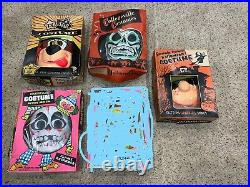 Halloween Collegeville TvStar Spook Town Costume Mask Skeleton BeetleBailey lot