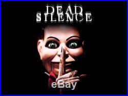 Halloween Dead Silence Billy Life Size Puppet Prop Haunted House Pre-Order NEW
