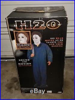 Halloween H20 LIFE SIZE animated Michael Myers Animatronic Prop Decoration