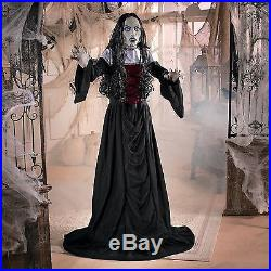 halloween haunted house prop gothic bloody vampire lady spooky scary ghost 5h