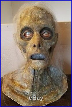 Halloween Horror Zombie Corpse Prop Head & Hands Haunted House SCARY