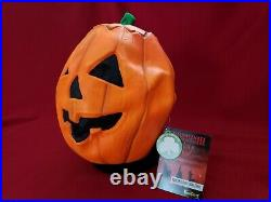 Halloween III 3 Season Of The Witch Don Post Magic Pumpkin Mask Silver Shamrock