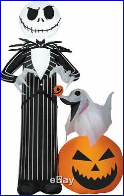 Halloween Jack Skellington Zero Nightmare Before Christmas Inflatable Airblown