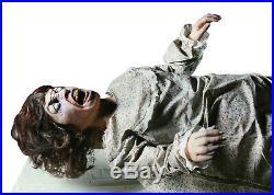 Halloween Life Size Animated Exorcism Exorcist Prop Decoration Animatronic