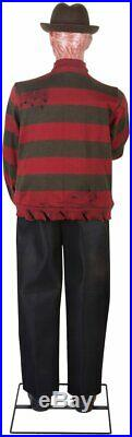 Halloween Life Size Freddy Krueger Nightmare Elm St Animated 6 Ft Prop -gemmy