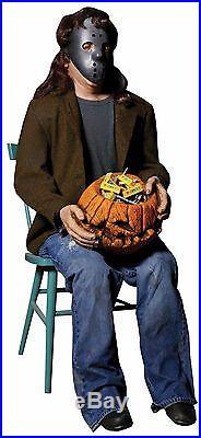Halloween Lifesize Animated CANDY CREEPER FRIGHTRONICS Prop Haunted House NEW