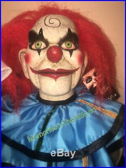 Halloween Prop Dead Silence Mary Shaw Clown Puppet Trick Or Treat Studios Horror
