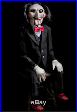 Halloween SAW Billy Life Size Replica Puppet Prop Haunted House Pre-Order NEW