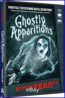Halloween Scary Display Decoration Atmosfearfx Ghostly Apparition DVD. ATX0009