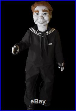 Halloween Twilight Zone The Dummy Willie Puppet Prop Trick Or Treat Studios NEW