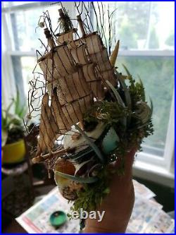 Handmade Mermaid/Siren Headpiece and Hair One Of A Kind