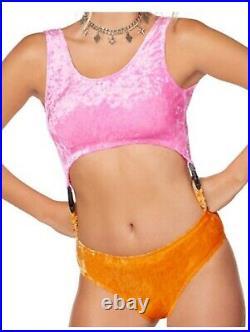 Harley Quinn Bodysuit Birds of Prey (sh) Womens Adult Large