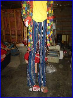 Haunted House Stilt Clown Professional Haunted House Prop / Halloween Prop
