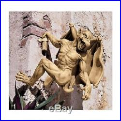 Historic Large Medieval Gothic Sculpture Mythical Gargoyle Wall Statue
