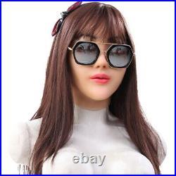IMI Angela Realistic Silicone Female Face Movie Props Crossdresser Halloween
