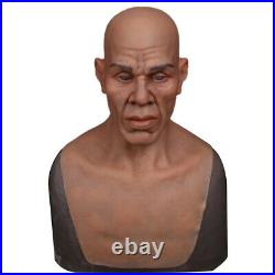 IMI Booker Realistic Silicone Old Man Face Movie Props Crossdresser Halloween