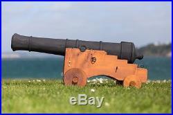 Incredible 4 foot Halloween Pirate Cannon Barrel