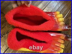 Jackie Kannon Krazy Feet HALLOWEEN Costume Shoes Vintage 1960s Retro