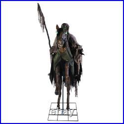 LIFE SIZE Reaper's Ride Animated Halloween Prop Horse Skeleton Sleepy Hollow NEW