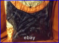 LOTR Arwen Dress Adult Halloween Costume Blue/Orange Velvet Up to sz 12 Rubies