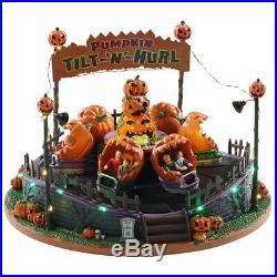 Lemax Spooky Town Pumpkin Tilt N Hurl NEW IN BOX SEALED 2020 Halloween