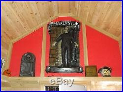 Life Size Boris Karloff Frankenstein Monster Doorway Movie Halloween Statue Prop