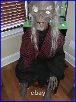 Life Size Crypt-keeper Tales From The Crypt Animated Figure 1996 Gemmy