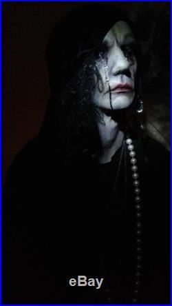 Life size evil fortune teller halloween prop midnight studios fx