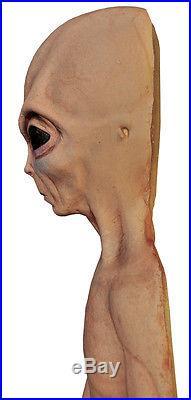 Lifesize Alien Foam Filled Martian Ufo Roswell Halloween Prop Decoration