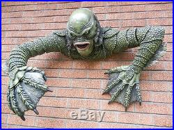 Lifesize Creature Lagoon Figure Wall Mount Halloween Prop Display Collectible